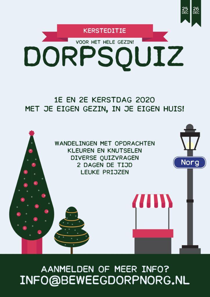Poster Kerstquiz 2020 Norg